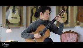 Embedded thumbnail for Guitarra en Blackwood y Red Cedar en venta Siccas Guitars